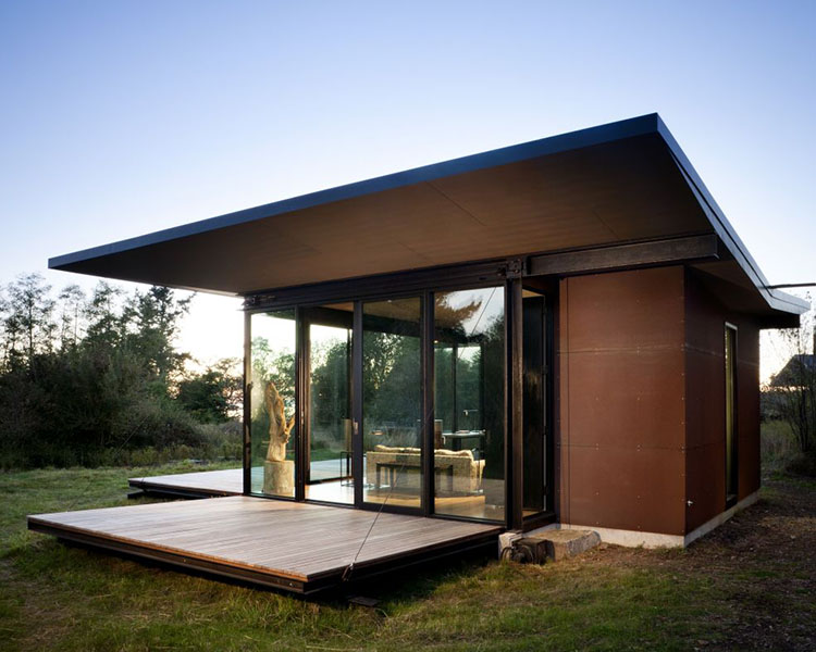 Tiny House Glass House
