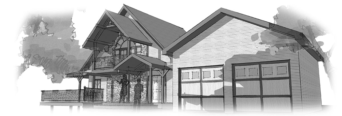 Residential Architect - Perspective view
