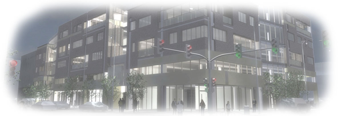 Mixed Use Architecture - Blake Street Rendering